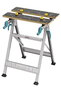 wolfcraft 6177000 - Banco de trabajo master 200 - 645x300-450x800 mm