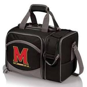 PICNIC TIME NCAA Maryland Terrapins Malibu Hunter Digital Print Set, One Size, Black