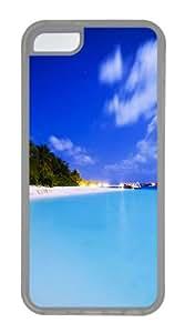 iPhone 5C Case,Maldivian Night TPU Custom iPhone 5C Case Cover Transparent