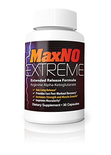 Max No Extreme - Post Workout L-Arginine and Nitric Oxide Supplement - 5 Pack by Max No Xtreme