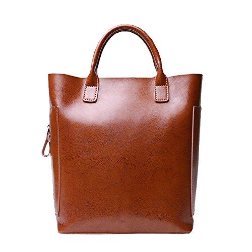 Valin, sac à main femme brune moyen