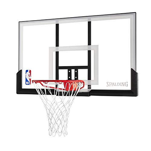 Spalding NBA Backboard/Rim Combo 52 Inch Acrylic Backboard (Goal Basketball Garage)