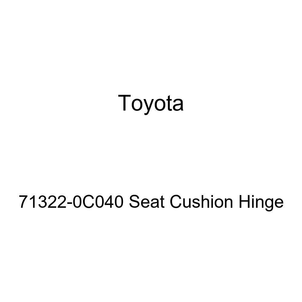 Toyota Genuine 71322-0C040 Seat Cushion Hinge