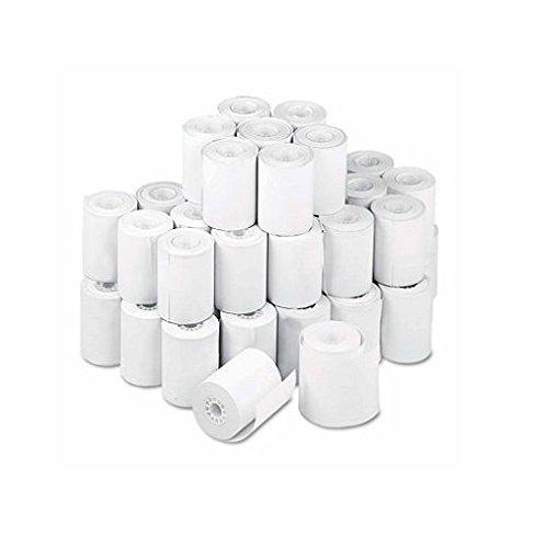 Single-Ply Thermal Cash Register/POS Rolls 2-1/4'' x 80 ft. White 50/Ctn