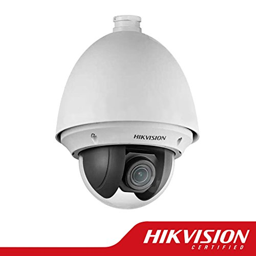 Hikvision DS-2DE4220-AE Smart Mini Speed Dome PTZ Network Camera 2MP, HD 1920X1080P, 20X Optical/16X Digital Zoom, PoE/24VAC, IP66 Weatherproof, H.264/MJPEG, True Day/Night, 3D Intelligent Positioning