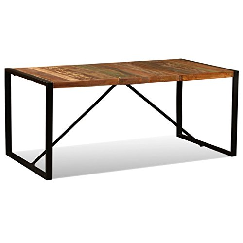 Solid Reclaimed Wood Dining Table, Dining Room/Kitchen Home Furniture