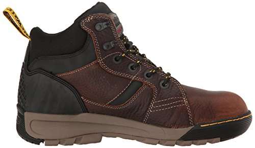 Uk Tie M Men's 6 Grapple Boots Steel Brown 14 13 Rubber Martens Us Dr Toe Leather O1qpan