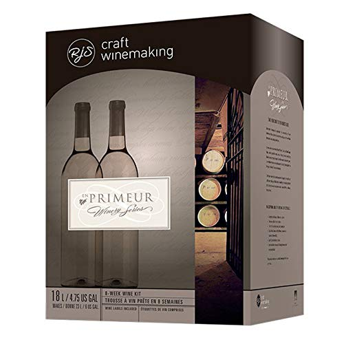 RJ Spagnols Winemakers Trio- Winery Series Red 6 Gallon Wine Kit