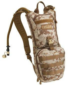 USMC Camelbak Ambush 3 Litre (100 Oz) Hydration Pack. Desert Digital., Outdoor Stuffs
