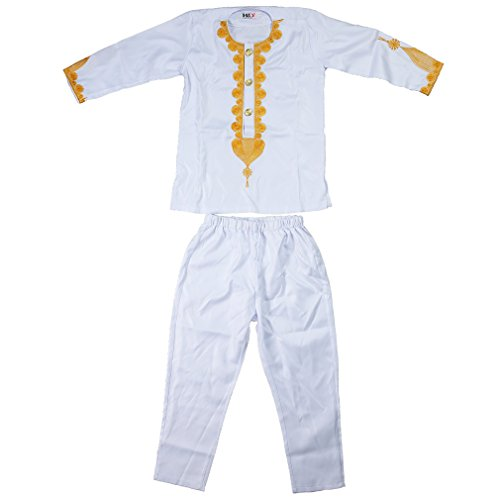 Parent-Child Clothes Sets Traditional Embroidery Dashiki African Riche Daddy and Me Outfits,Mens White-4XL