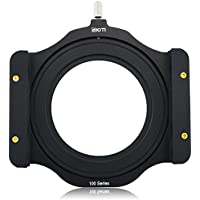 SIOTI 100mm Square Z series Aluminum Modular Filter Holder + 72mm-77mm Aluminum Adapter Ring for Lee Hitech Singh-Ray Cokin Z PRO 4X4 4x54X5.65 Filter (72mm)