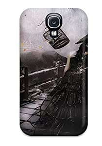 KnWuuzC230VQGKl Faddish Gothic Dark Abstract Dark Case Cover For Galaxy S4