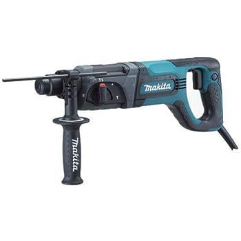 makita hammer drill set. makita hr2475 1-inch d-handle sds-plus rotary hammer drill set
