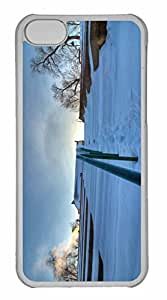 iPhone 5C Case, Personalized Custom The Climb Up for iPhone 5C PC Clear Case
