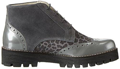Marc Femme Katy Grau Brogues Shoes 00153 Gris grey combi gBgrtwvqT