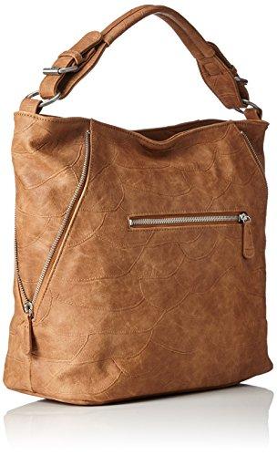 Fritzi aus Preussen Fabiola - Shoppers y bolsos de hombro Mujer Marrón (Brandy)