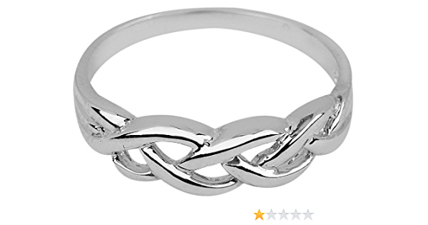 Figure 8 Gold Ring Eternity Ring Gift for Her Dainty Ring Promise Ring for Her Celtic Knot Ring Infinity Ring