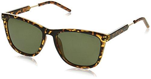 2033 Havana S Gold Dorado Sonnenbrille PLD Pz Polaroid Green fq7vw7