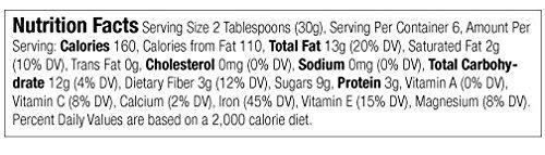JEM - USDA Certified Organic Chocolate Hazelnut Butter Spread, Vegan, NON-GMO - 16 oz by JEM Organics