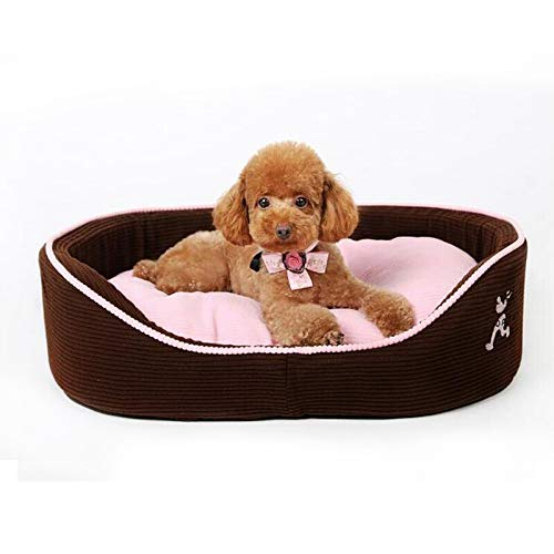 Large size 604516cm Pet Bed Kennel Dogbed Cave Cashmere Mat Sleeping Cushion Cooling Washable Soft Available Warm Litter House Outdoor Hut Pads Cotton Large Thatched Shelter Crate Anti-Mold Supplies Medium Indoor Suprem