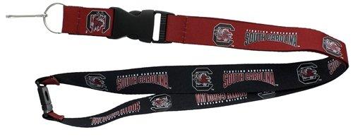 aminco NCAA South Carolina Fighting Gamecocks Reversible Lanyard