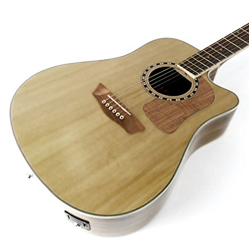 Washburn Woodcraft Series WCSD52SCE Dreadnought Acoustic-Electric Guitar Natural ()