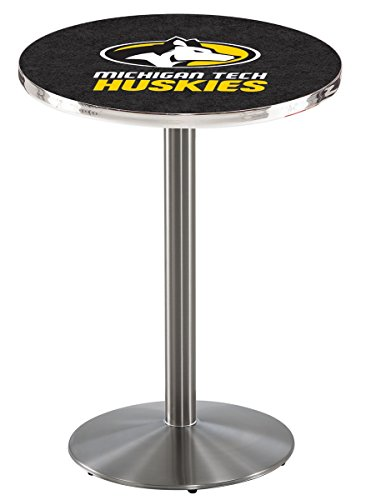 Holland Bar Stool L214S Michigan Tech University Officially Licensed Pub Table, 28