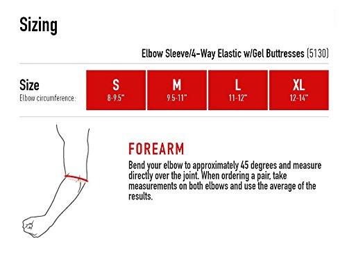 McDavid 4 Way Elbow Sleeve with Gel Medium