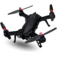 SHY-Drone Quadcopter- MJX B6 Bugs 6 Drone RC RTF Brushless 5.8G FPV High resolution 720P Camera Capacity Battery Racing, Flight Stability and Easy to Fly for Beginner, Black2