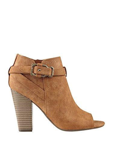 G by GUESS Womens Julep Peep-Toe Booties Honey Lxi3to