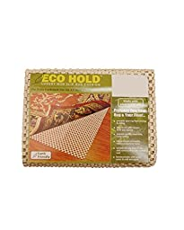 NaturalAreaRug Eco Hold Rug Pad Earth Friendly Provides Extra Cushion For All Hard Surfaces of size 9\' x 12\'. Heavier and Thicker than Most Rug Pads
