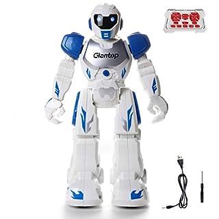 Glantop Remote Control RC Robots, Interactive Walking Singing Dancing Smart Programmable Robotics for Kids Boys Girls - Best Gift