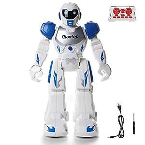 Amazon Com Glantop Remote Control Rc Robots Interactive Walking
