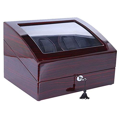 SuRose Automatic Watch Winder Box Automatic Rotate Watch Winder 6+7 Leather Storages