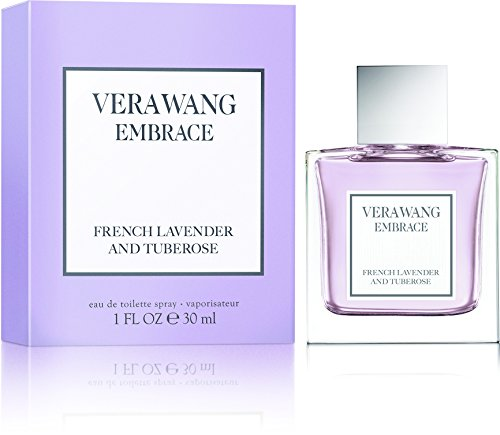 Vera Wang Embrace French Lavender and Tuberose Eau De Toilette, 1 Fluid Ounce - Vera Lavender Collection