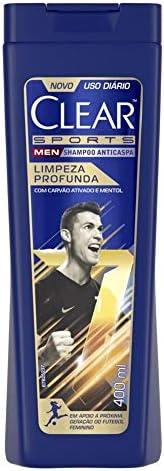 Shampoo Anticaspa Men Limpeza Profunda 400 Ml, Clear, 400 Ml