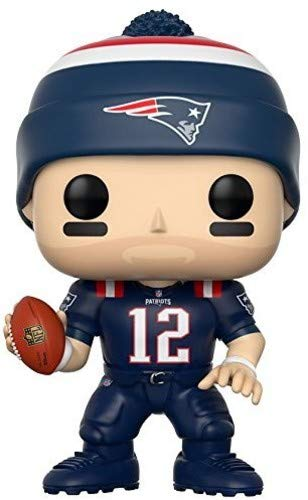(Funko POP NFL: Tom Brady (Patriots Color Rush) Collectible Figure)