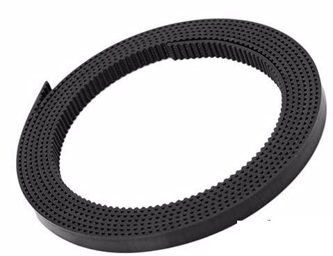 GT2 Timing Belt Width 6mm PU Polyurethane Steel Core Black Open 1 Meter 3D Printer Part