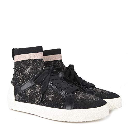 Footwear Negras Estrellas Ninja Zapatillas Con Mujer Ash Plateadas Negro De Star 6ZwUTdqfnf