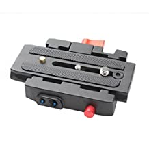 P200 Quick Release QR Plate for Manfrotto 501 500AH 701HDV 503HDV 7M1W 577