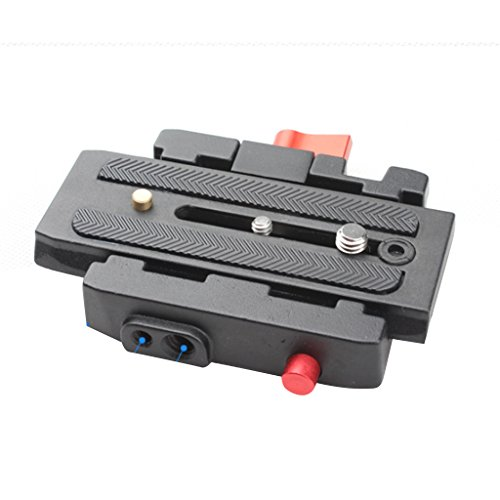 MagiDeal P200 Quick Release QR Plate for Manfrotto 501 500AH