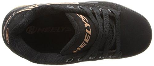 Heelys Propel 2.0 Skate-Schuh (kleines Kind / großes Kind) Schwarzer Gummi