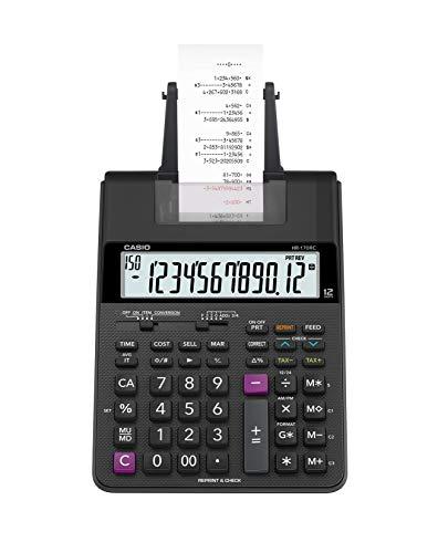 Casio HR-170RC Plus Mini-Desktop Printing Calculator (Calculator That Prints)