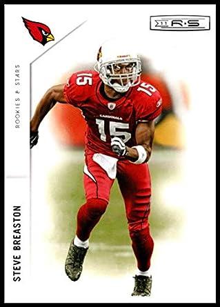 efa4a4e3d Amazon.com  2011 Rookies and Stars  3 Steve Breaston NM-MT Cardinals ...