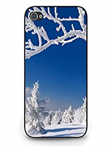 Personalized Iphone 5c Case Skin, Snow Scenery Pattern