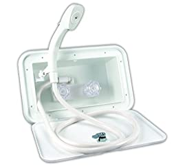 Jr Products 5m102-a Polar White Exterior Shower