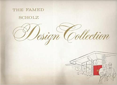The Famed Scholz Design Collection Amazoncom Books