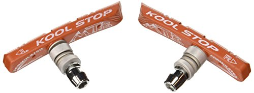 Kool Stop MTN Mountain Bicycle Brake Pads (Threaded, Salmon)