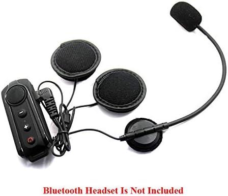 S3 Moto Interphone Casque Interphone pour Casques Ouverts TOOGOO 2 Pi/èCes S/éRies 8 Broches /éCouteur Microphone Haut-Parleur pour BT-S1 BT-S2