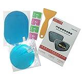 HuldaqueenMX Impermeable Antiniebla Etiqueta de la película del Espejo retrovisor del Coche Película Protectora Protector contra la Lluvia Ventana Lateral Película Ultra Clara